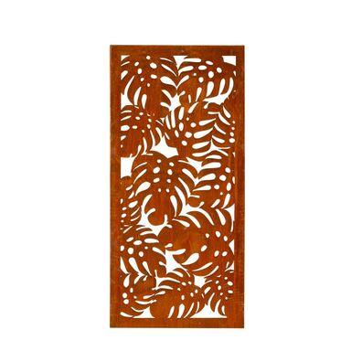 Panel osłonowy CORTEN 85 x 180 cm monstera FOREST STYLE