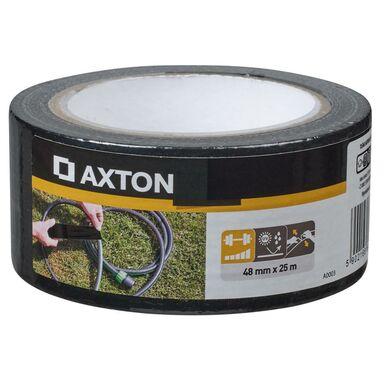 Taśma naprawcza 48 mm x 25 m czarna Axton