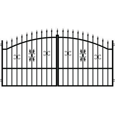 Brama dwuskrzydłowa ELIZA III 300 cm POLARGOS
