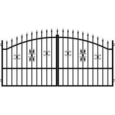 Brama dwuskrzydłowa ELIZA III 300 x 150 cm POLARGOS
