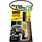Klej błyskawiczny SUPER STRONG&SAFE 7 g uniwersalny UHU