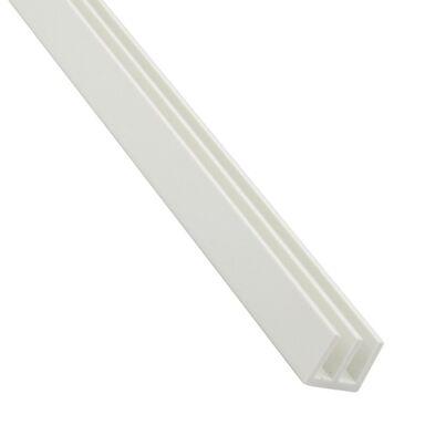 Eownik PVC 1 m x 14 x 10 mm matowy biały