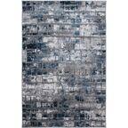Dywan Pacyfik szaro-niebieski 80 x 150 cm