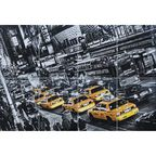Fototapeta CABS QUEUE 366 x 254 cm