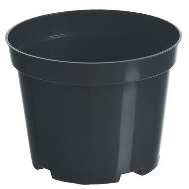Doniczka plastikowa 17 cm czarna 2,0 L RIM KOWALCZYK