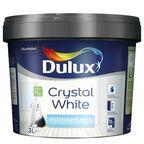 Farba wewnętrzna CRYSTAL WHITE 3 l Biała DULUX