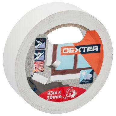 Taśma malarska PVC 30 mm x 33 m DEXTER