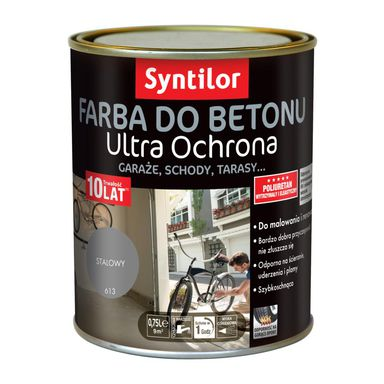 Farba do betonu ULTRA OCHRONA 0.75 l Stalowy SYNTILOR