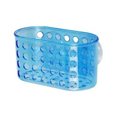 Koszyk łazienkowy PVC BLUE M CENTER PLUS