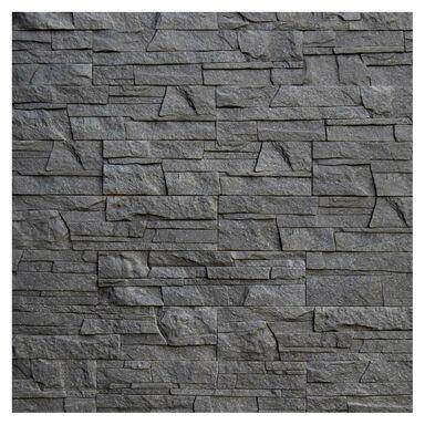 Kamień elewacyjny Lazzaro Grafit - Brokat 38 x 10 cm 0.38 m2 Max-Stone