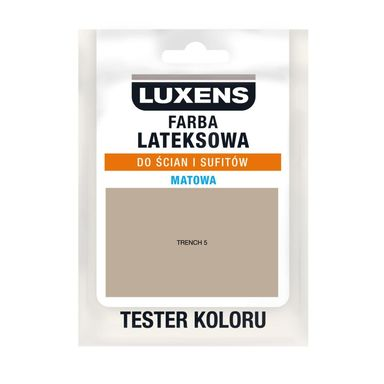 Tester farby LATEKSOWA 25 ml Trench 5 LUXENS