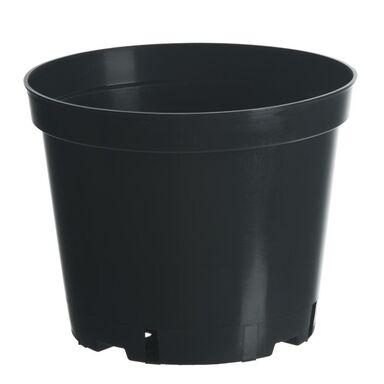 Doniczka plastikowa 32 cm czarna 15,0 L