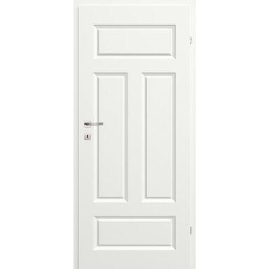Skrzydło drzwiowe pełne Morano I Białe 80 Prawe Classen