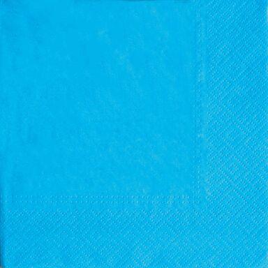 Serwetki Unicolor turkusowe 33 x 33 cm 20 szt.