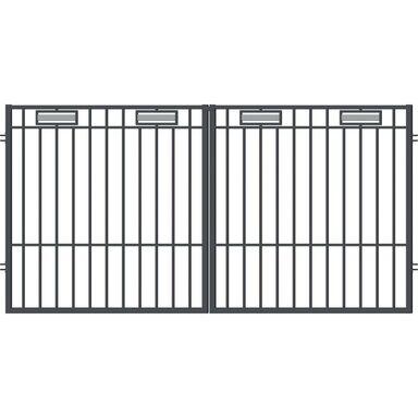 Brama dwuskrzydłowa ARGOS 2 300 x 150 cm POLARGOS