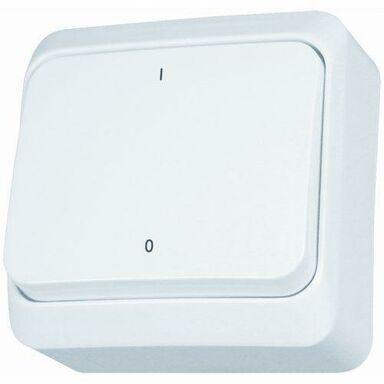 Włącznik dwubiegunowy PRIMA  Biały  SCHNEIDER ELECTRIC