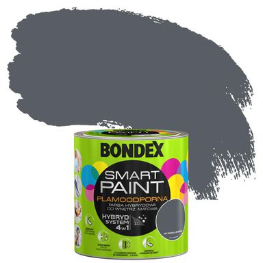 Farba wewnętrzna SMART 2,5 l Gdy światła zgasną BONDEX